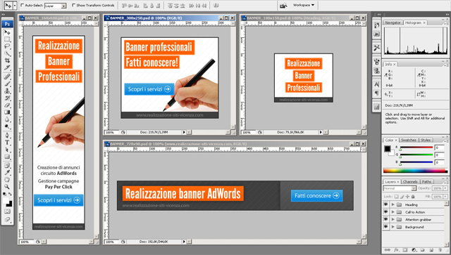 Creazione Banner Google Display AdWords