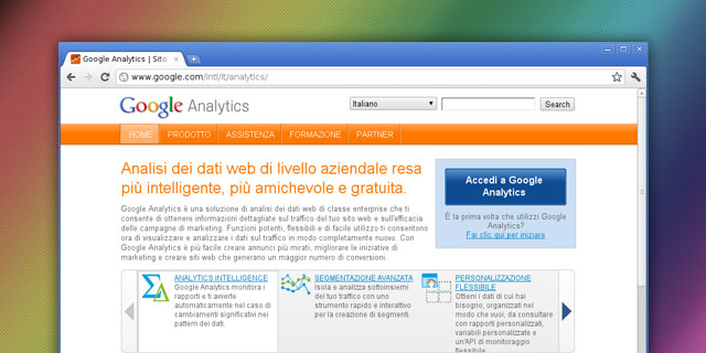 SEO Vicenza - Google Analytics