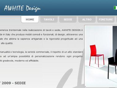 A White Design