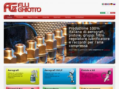 Sito web Drupal 7 - Fratelli Ghiotto