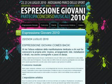 Espressione Giovani 2010 - Blog concorso musicale