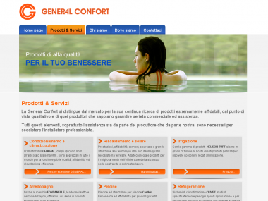General Confort: nuovo sito istituzionale