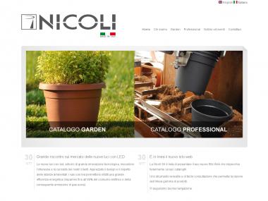 Nicoli SRL: realizzazione sito web
