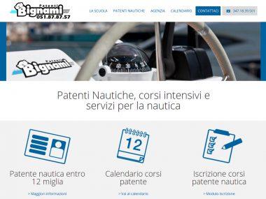 Sito web Patenti Nautiche Bignami