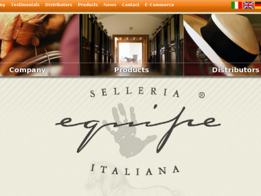 Home page Selleria Equipe