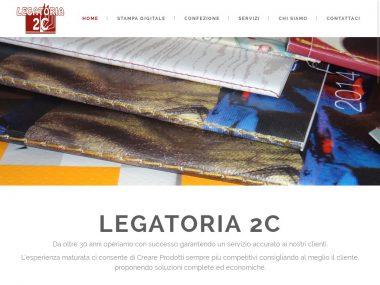Nuovo sito Wordpress per Legatoria2C