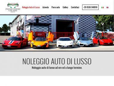 Sito web per azienda: esempio home page