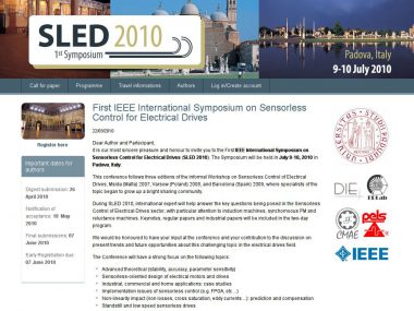 SLED 2010 - Gestione conferenza via web