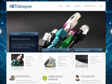 Sito web Wordpress - NETdesigner