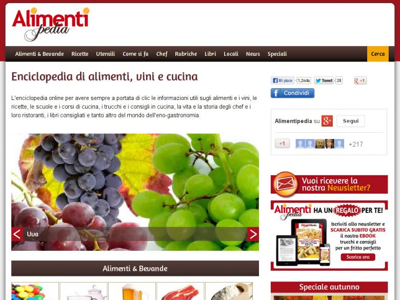 Portale Alimentipedia.it