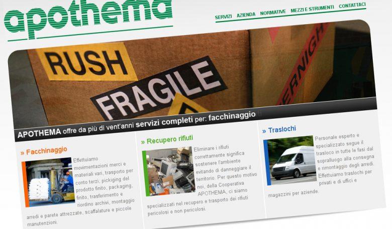 Esempio sito web con Drupal