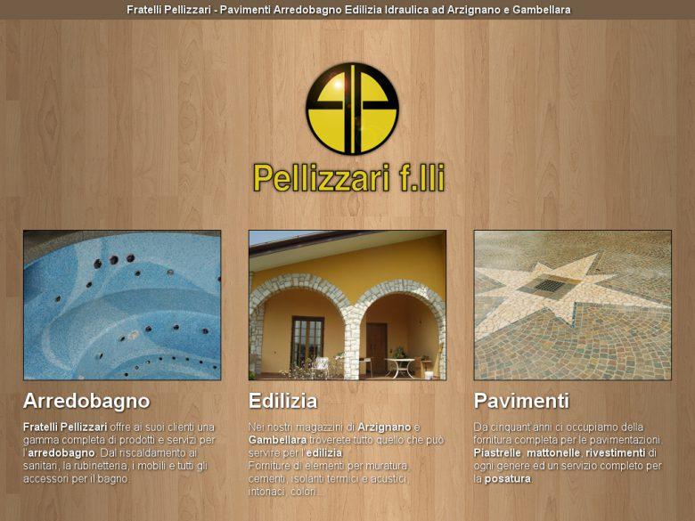 Landing page Fratelli Pellizzari