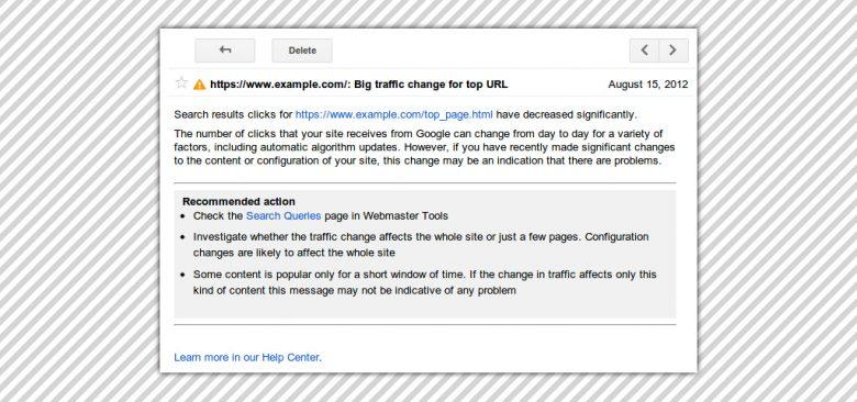 Strumenti SEO: Google webmaster tool e query alert