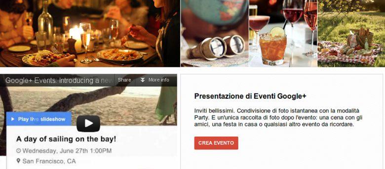 Google+ Eventi ed il SEO