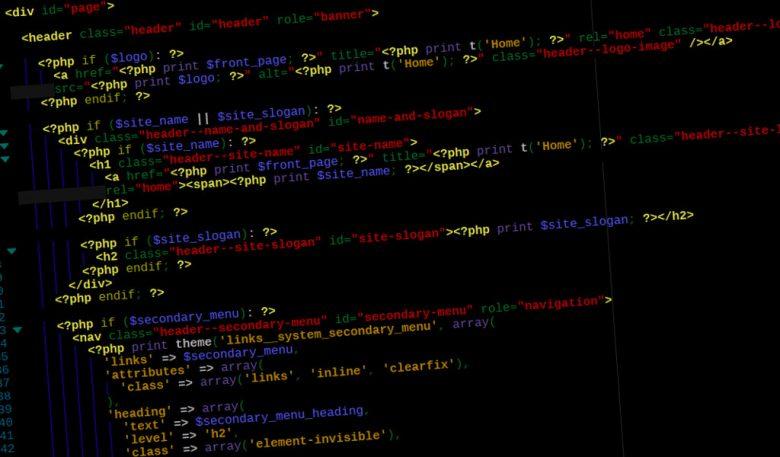 Esempio codice programmazione tema Drupal