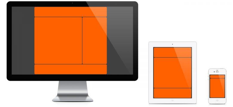 Siti web professionali: esempi layout responsive web design