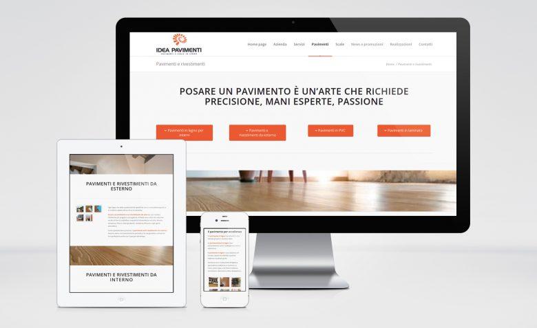 Esempio sito responsive in WordPress