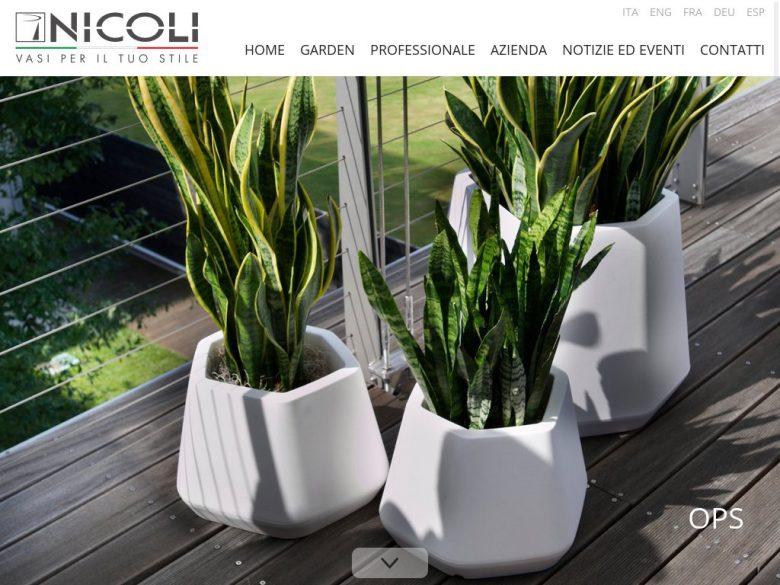 Esempio di home page per sito corporate Drupal