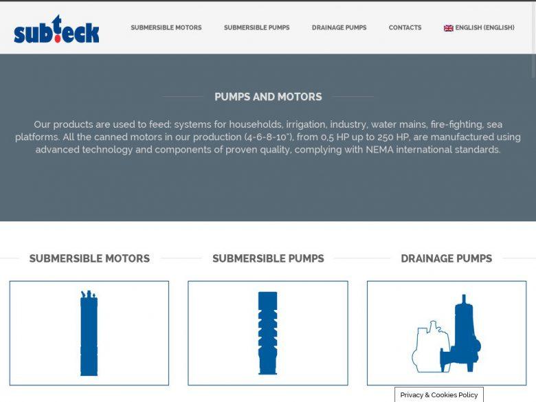 Sito web Subtech