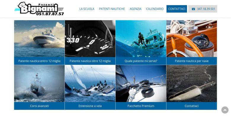 Esempio sito web per scuola nautica in Drupal 7