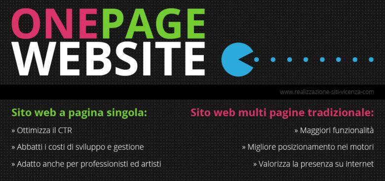 Sito web economico a pagina singola