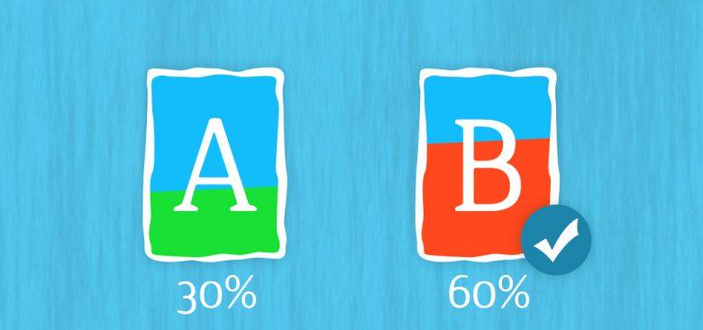 A-B test per migliorare rendimento siti web