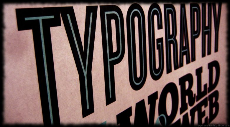Web typography: web fonts e Google fonts