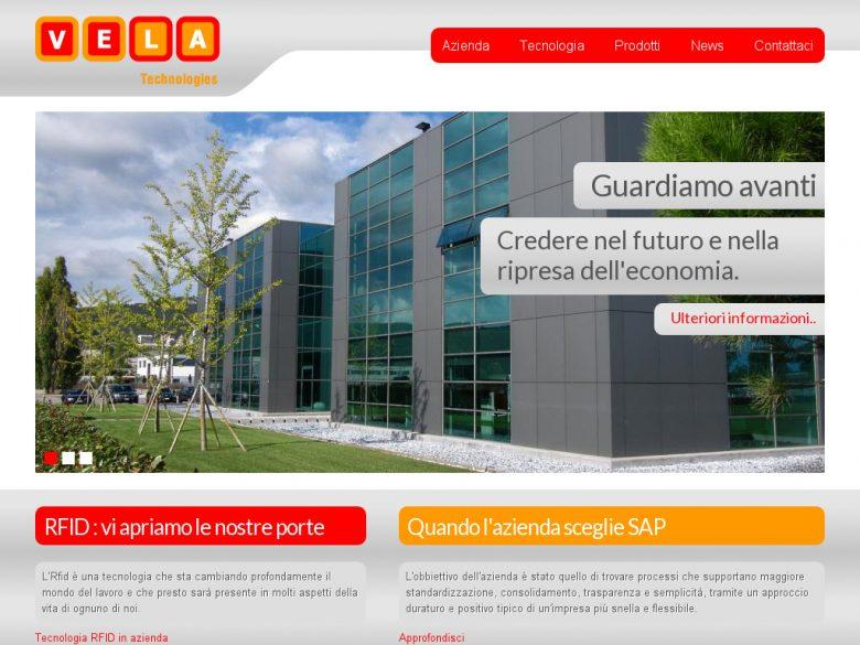 Sito Drupal 7 Vela Technologies Vicenza