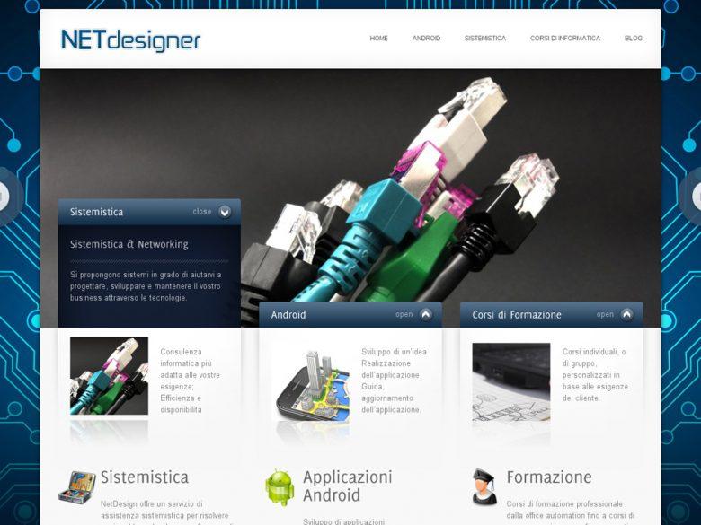 Sito web Wordpress - NETdesigner