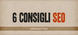 Copertina 6 consigli SEO a cura di Realizzazione Siti Vicenza