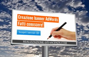 SEO Vicenza: creare un banner per AdWords