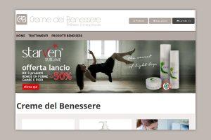 Siti web Vicenza: creazione ecommerce cosmesi e benessere
