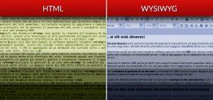 Differenza tra sito web statico HTML e dinamico CMS