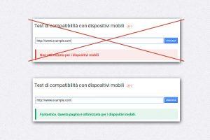 Test compatibilità con dispositivi mobili